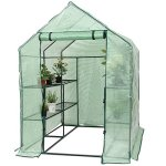 Heavy-Duty-Outdoor-8-Shelves-2-Tiers-Portable-Mini-Walkin-Greenhouse-Perfect-for-Extending-Your-Growing-Season-and-Protecting-Your-Plants-0