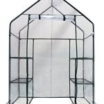 Homewell-Mini-Walk-In-Greenhouse-4-shelves-56L-x-29W-x-77H-by-Homewell-Products-0