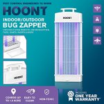 Hoont-Powerful-Electric-Indoor-Outdoor-Bug-Zapper-and-Fly-Zapper-Catcher-Killer-Trap–Protects-Up-to-15-Acre-Bug-and-Fly-Killer-Insect-Killer-Mosquito-Killer–For-Residential-and-Commercial-Use-0-2