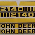 JD2140-New-Hood-Decal-Set-made-to-fit-John-Deere-Tractor-2140-0