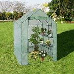 KARMAS-PRODUCT-Walk-in-Mini-Outdoor-Greenhouse-2-Tier-8-Shelf-Portable-Garden-Backyard-Patio-Plants-Tent-563L-x-563W-x-767H-0-0