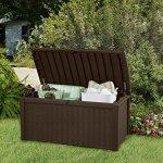 Keter-Borneo-110-Gal-Plastic-Outdoor-Patio-Storage-Container-Deck-Box-Garden-Bench-Brown-0-1