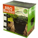 KnGLuv-BBQ-Bucket-Compact-Barbecue-Charcoal-Grill-Outdoor-Patio-Deck-Camping-Grilling-Glamping-0-0