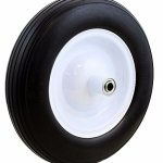 Lotus-Analin-13-Wheel-Barrow-cart-Wagon-Tire-Flat-Free-58-Wheelbarrow-Formed-Ribbed-Tread-0