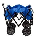 Mac-Sports-Folding-Garden-Utility-Wagon-wTable-Blue-0-1