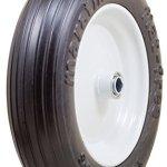 Marathon-350250-8-Flat-Free-Tire-on-Wheel-3-Hub-58-Bearings-0