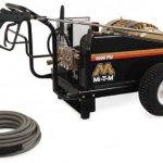 Mi-T-M-CW-4004-1ME3-CW-Premium-Series-Cold-Water-Electric-Belt-Drive-150-HP-Motor-230V-40A-4000-PSI-Pressure-Washer-0