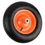 NK-Pneumatic-Wheelbarrow-Air-Tire-with-Ribbed-Tread-6-Inch-Centered-Hub-58-Inch-Bearings-155-Inch-Tire-Diameter-480400-8-0