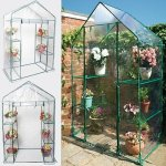 New-Portable-Walk-In-Greenhouse-Outdoor-3-Tier-4-Shelves-Green-House-0