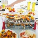 OOOQDUA-Barbecue-student-desktop-equipment-assembled-homemade-seaside-smoke-free-barbecue-rack-0-2
