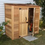 Outdoor-Living-Today-GGC63SR-Grand-Garden-Chalet-6-x-3-ft-Storage-Shed-0