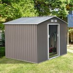Outsunny-Outdoor-Metal-Garden-Storage-Shed-0-0