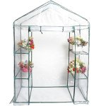Portable-4-Shelves-Walk-In-Greenhouse-Outdoor-3-Tier-Green-House-New-0-3