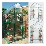 Portable-4-Shelves-Walk-In-Greenhouse-Outdoor-3-Tier-Green-House-New-0