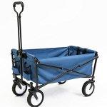 Seina-Collapsible-Folding-Utility-Wagon-Garden-Cart-Shopping-Beach-Outdoors-0