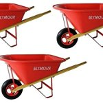 Seymour-WB-JRB-Childrens-Hight-Density-Poly-Tray-Wheelbarrow-with-Steel-Wheel-and-Solid-Rubber-Tire-Boxed-Pack-of-3-0
