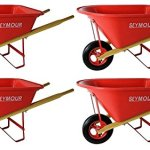 Seymour-WB-JRB-Childrens-Hight-Density-Poly-Tray-Wheelbarrow-with-Steel-Wheel-and-Solid-Rubber-Tire-Boxed-Pack-of-4-0