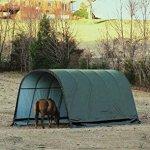 ShelterLogic-Round-Style-Run-In-Shelter-Green-0-0