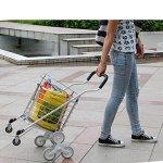 Shopping-cart-hand-Push-car-Aluminum-alloy-foldable-portable-buy-dish-car-hand-Push-car-0-0
