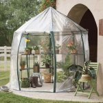 Small-GreenhousePortableClearWith-Shelving-Round-96H-0