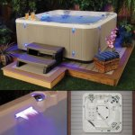 Starlight-Hot-Tubs-Southern-Star-5-Person-41-Jet-Hot-Tub-with-Sterling-Cabinet-0