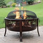 Sunnydaze-Pheasant-Hunting-Fire-Pit-30-Inch-Diameter-with-Spark-Screen-0-0