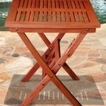 VIFAH-V03SET2-Outdoor-Wood-5-Piece-Dining-Set-Natural-Wood-Finish-24-by-24-by-27-Inch-0-1