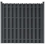 WPC-Fence-Panel-Square-Gray-Environmentally-Friendly-Outdoor-Grden-Fence-Decoration-0