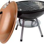 alp-Classic-14-Charcoal-Barbecue-Grill-Portable-BBQ-Heavy-Steel-WRemovable-Legs-Ash-Catcher-Copper-Color-0