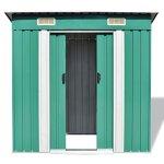 vidaXL-Garden-Shed-Metal-748x488x713-Garage-Tool-Storage-House-2-Colors-0-2