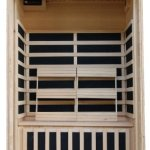 2-Person-Sauna-Infrared-FIR-FAR-6-Carbon-Heaters-Hemlock-Wood-CD-Player-MP3-Aux-New-0-0