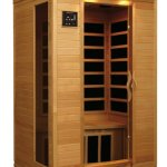 2-Person-Sauna-Infrared-FIR-FAR-6-Carbon-Heaters-Hemlock-Wood-CD-Player-MP3-Aux-New-0-1