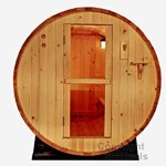6-Foot-Canadian-Outdoor-PINE-WOOD-Barrel-Sauna-WET-DRY-SPA-4-Person-Size-0-0