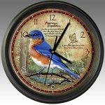 American-Expedition-WCLK-133-WALL-CLOCK-BLUEBIRD-0