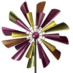 Bits-and-Pieces-Autumn-Palette-Wind-Spinner-28-in-Diameter-Two-Level-Kinetic-Windspinner-Unique-Outdoor-Lawn-and-Garden-Dcor-0-1