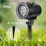 Bjour-Christmas-Light-Projector-Outdoor-Indoor-Decorations-Waterproof-with-14-Rotating-Slides-and-4-Speed-Modes9W-UL-Listed-YG-FL02-14-Rotating-Slides-0-2