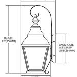Bristol-2-Light-Outdoor-Wall-Lantern-in-Charcoal-and-Beveled-Glass-0-0