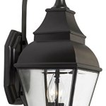 Bristol-2-Light-Outdoor-Wall-Lantern-in-Charcoal-and-Beveled-Glass-0