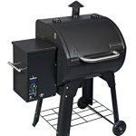 Camp-Chef-PG24XT-Smoke-Pro-Pellet-BBQ-with-Digital-Controls-and-Stainless-Temp-Probe-Smoker-Grill-Black-0