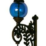 Cast-Iron-Bell-W-BLUE-Glass-Gazing-Ball-Cast-Iron-Bell-W-BLUE-Glass-Gazing-Ball-0