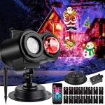 Christmas-Ocean-Wave-Projector-Lights-Mworld-2-in-1-Moving-Patterns-with-Ocean-Wave-Novel-Gift-Light-Projector-Waterproof-Xmas-Theme-Party-Yard-Garden-Ceiling-Floor-Decoration-16-Slides-10-Colors-0