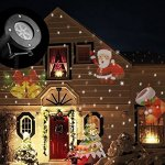 Christmas-Outdoor-Lights-Projector-Christmas-Projector-Light-Outdoor-Christmas-Lights-12-Slides-Wireless-Remote-Control-Waterproof-Moving-Landscape-Light-for-ChristmasHalloweenPartyBirthday-0-0