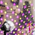 Christmas-Projector-Light-AVEKI-Animated-Projector-Lights-8-Replaceable-Slides-Waterproof-Landscape-Projector-with-RF-Remote-Control-for-Halloween-Christmas-Party-and-Garden-Decoration-0