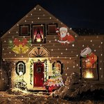 Christmas-Projector-Light-House-Garden-Lighting-Show-LED-Landscape-Moving-Lights-with-12-pcs-Switchable-Slides-Laser-Lights-for-XmasParty-Outdoor-Indoor-Decoration-0