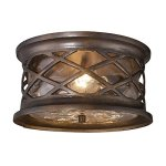 Elk-Lighting-Barrington-Gate-2-Light-Outdoor-Flush-Mount-in-Bronze-0