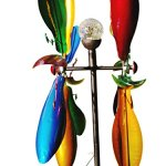 Fancy-Gardens-7-foot-tall-Festive-Flower-Wind-Spinner-with-Solar-Ball-Decorative-Lawn-Ornament-Wind-Mill-Unique-Outdoor-Lawn-and-Garden-Dcor-Solar-wind-spinner-0-2