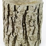 Fleur-de-Lis-Garden-Ornaments-LLC-Small-Concrete-Tree-Trunk-Pedestal-0