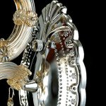 Generic-Crystals-Chandelier-2-Porch-Pendant-Lights-with-Lampshade-Color-Cognac-0-1