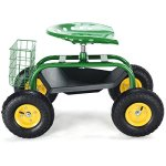 Goplus-Garden-Cart-Rolling-Work-Seat-Outdoor-Lawn-Yard-Patio-Wagon-Scooter-for-Planting-Adjustable-360-Degree-Swivel-Seat-wTool-Tray-Basket-0-0