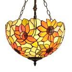 Gweat-16-Inch-Pastoral-Warm-Sunflower-tiffany-Pendant-Light-Living-Room-lamp-Uplight-0